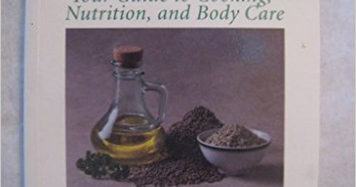 Hemp Foods and Oils For Health (Book)