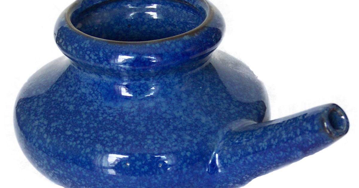 Neti Pot, Ceramic