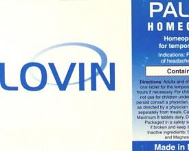 Palovin, Tablets