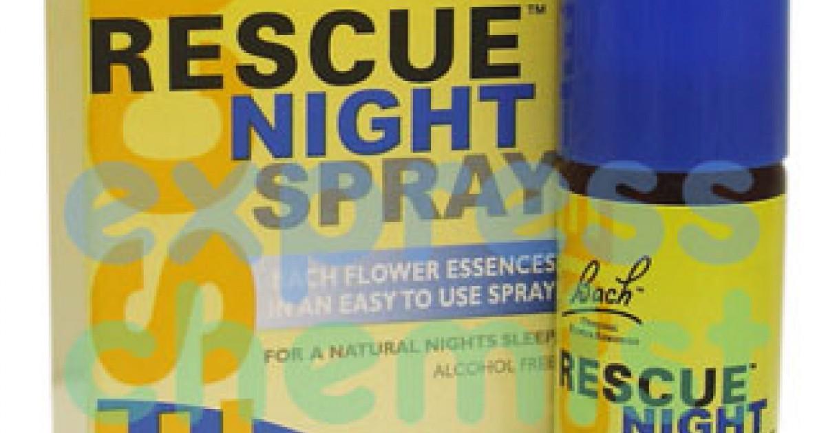Rescue Sleep, Night Spray, 20ml