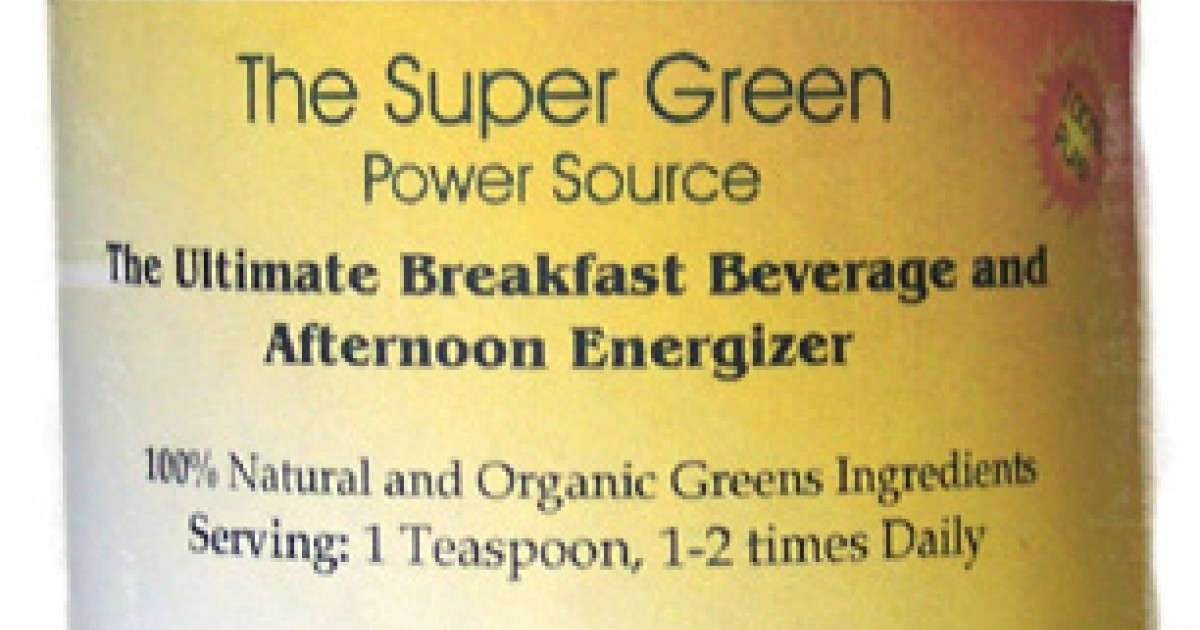 The Super Green Power Source