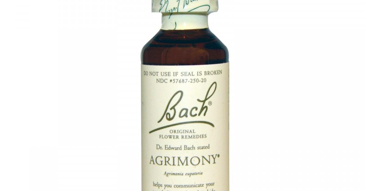 Agrimony, Bach Flower Remedy, 20ml