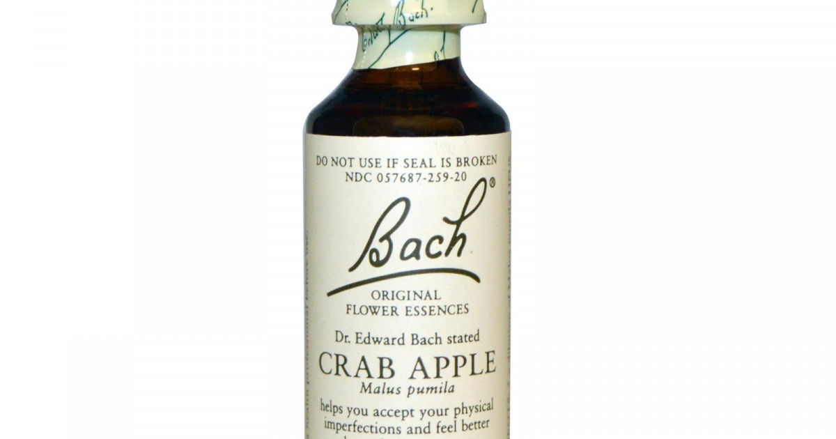 Crab Apple, Bach Flower Remedy, 20ml
