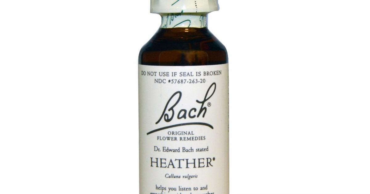 Heather, Bach Flower Remedy, 20ml