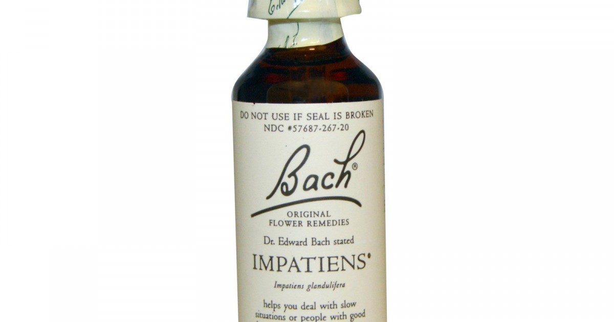 Impatiens, Bach Flower Remedy, 20ml