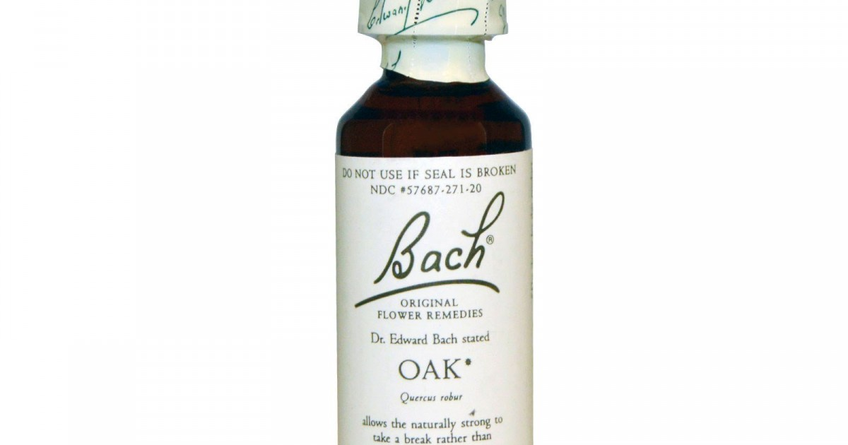 Oak, Bach Flower Remedy, 20ml