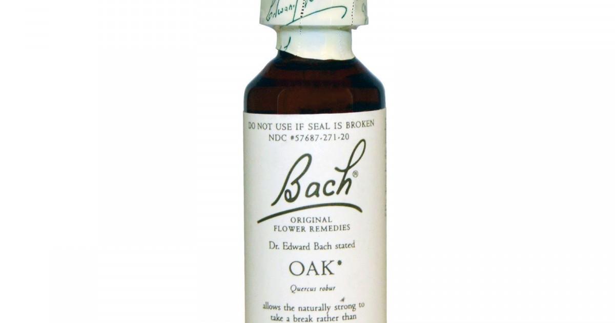 Oak, Bach Flower Remedy, 20ml