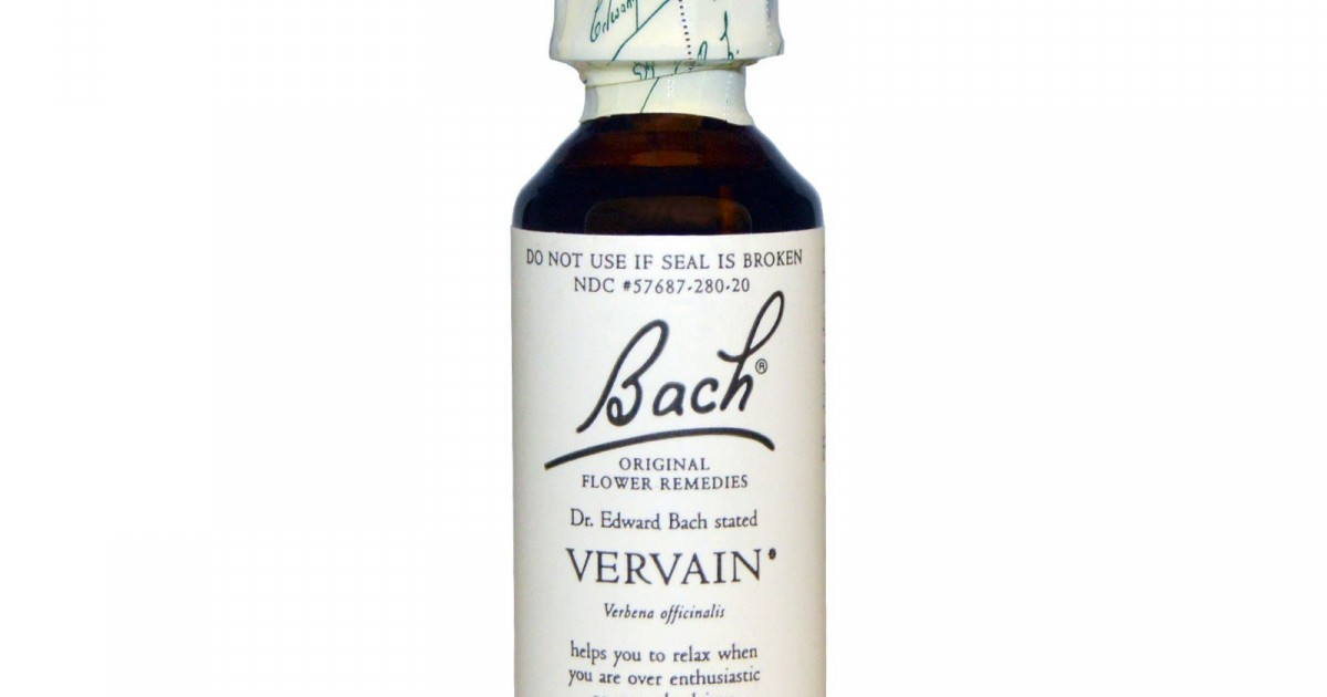 Vervain, 20ml, Bach Flower Remedy