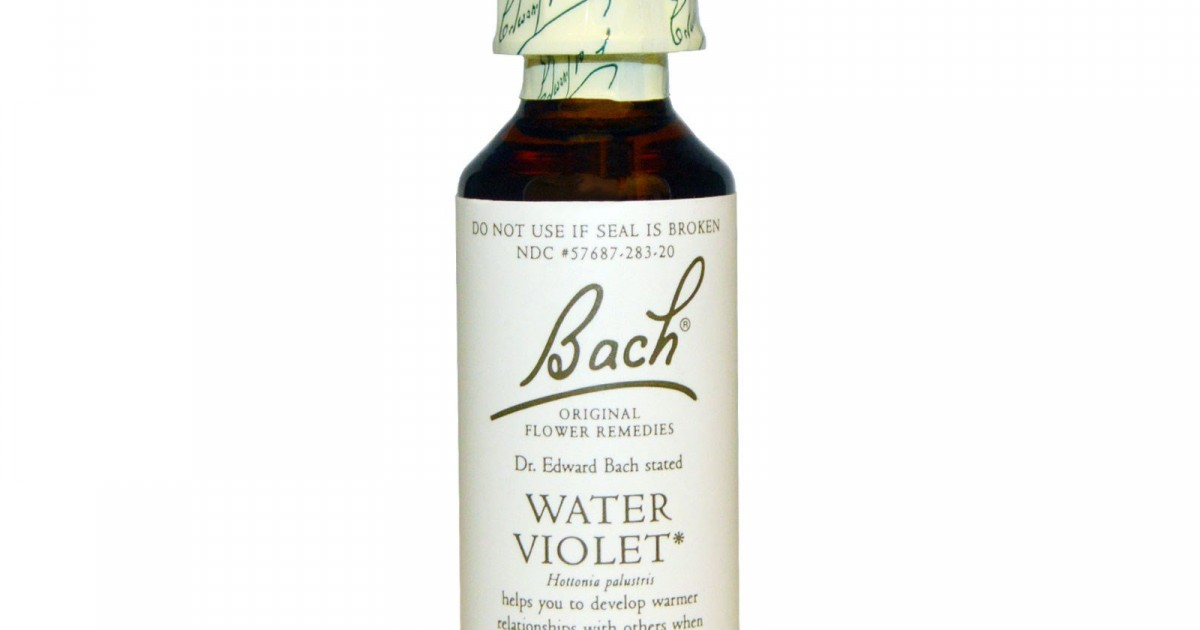 Water Violet, Bach Flower Remedy, 20ml