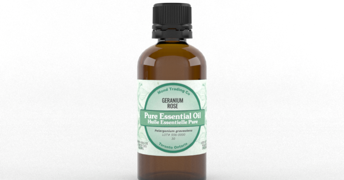 Geranium, Rose - Pure Essential Oil