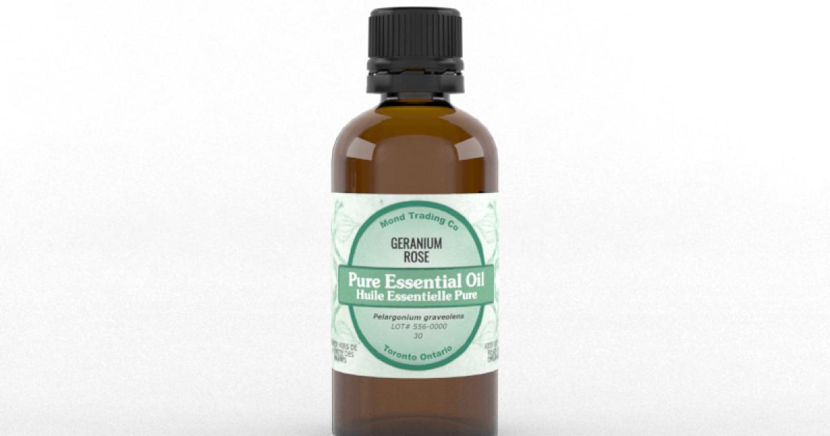 Geranium, Rose - Pure Essential Oil
