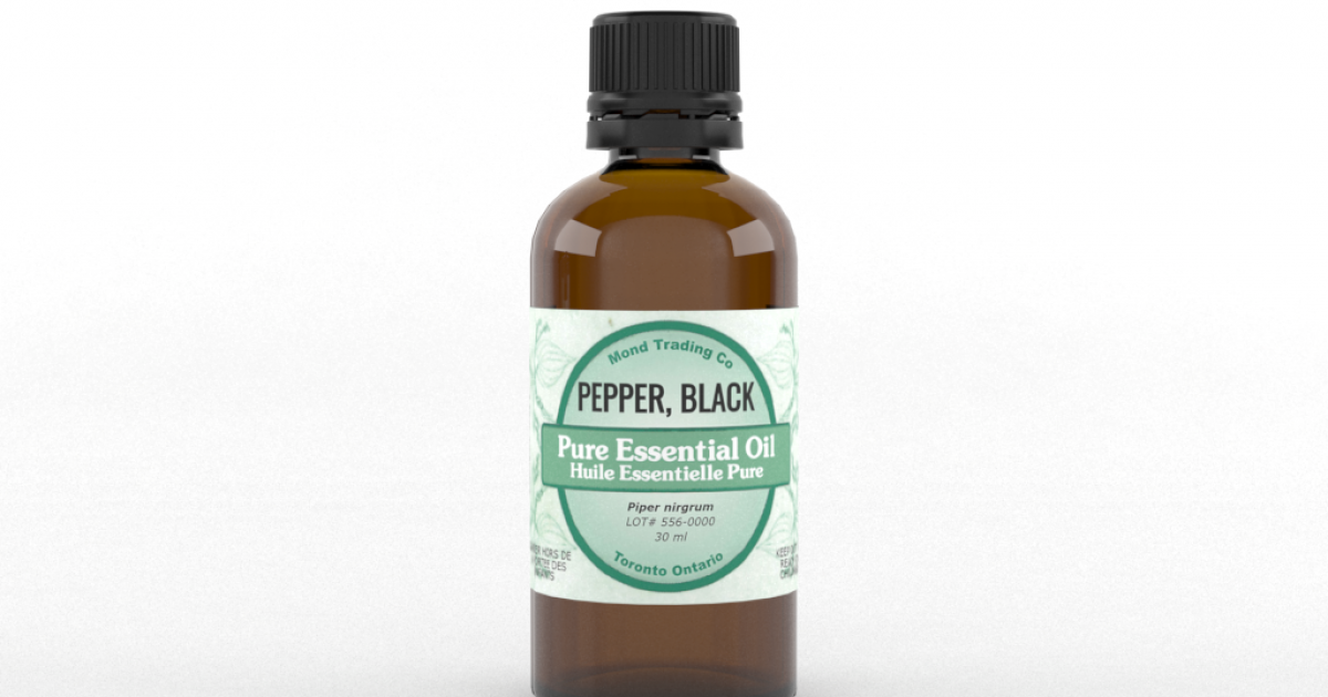 Pepper, Black - Pure Essential Oil