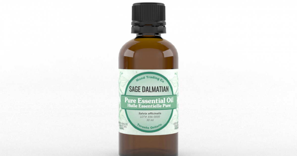 Sage Dalmatian - Pure Essential Oil